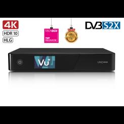 Satellite 4K receiver DVB-S / S2 VU + UNO 4K SE (Dual FBC tuner DVB-S2X)