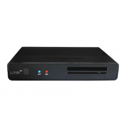 Combo receiver DVB-S / S2 / T / T2 / C (H.265 HEVC) Qviart LUNIX CO